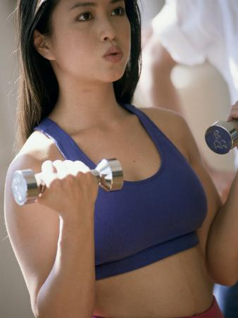 Strength Training with Hand Weights
