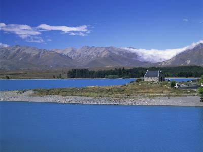 Church of the Good Shepherd Lake Tekapo Near Christchurch New Zealand
