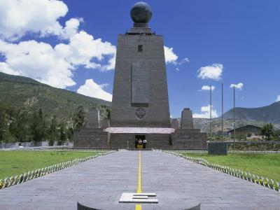 La Mitad del Mundo Monument Quito Ecuador