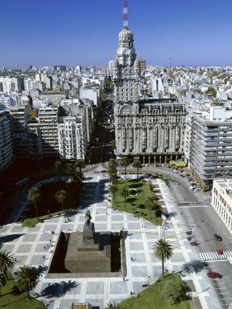 Salvo Palace Independence Plaza Montevideo Uruguay