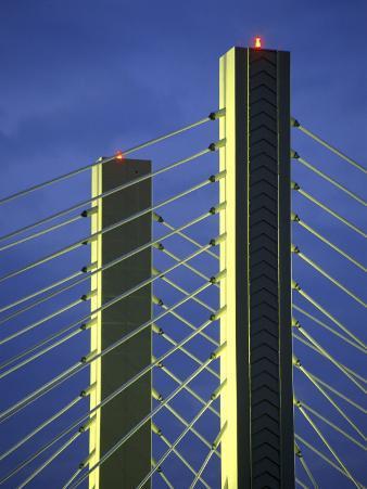 Suspension Bridge Tacoma, Washington, USA