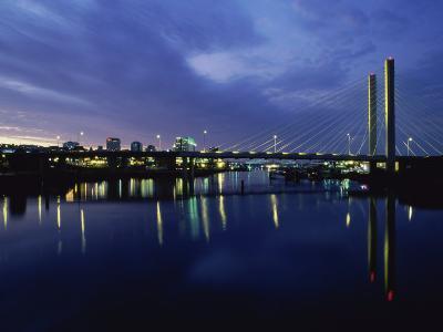 Suspension Bridge, Tacoma, Washington, USA