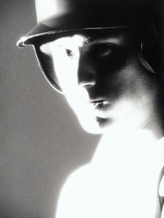 Portrait of a Baseball Player