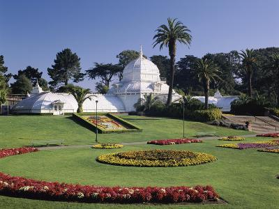 Conservatory of Flowers, Golden Gate Park, San Francisco, California, USA