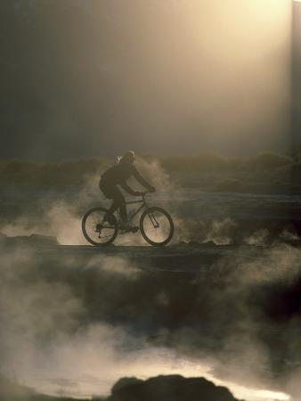 Misty Morning Bicycle Ride