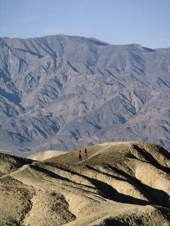 Jogging in Barren Terrain