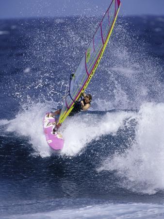 Windsurfer on a Wave