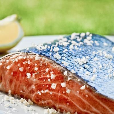 Salmon with Salt