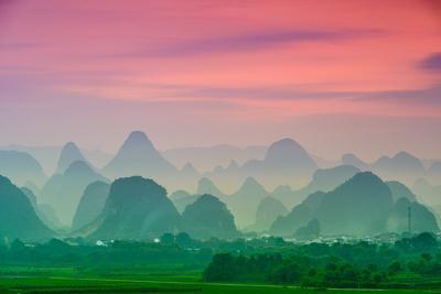 Karst Mountains of Guilin, China
