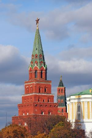 Moscow Kremlin. UNESCO World Heritage Site.