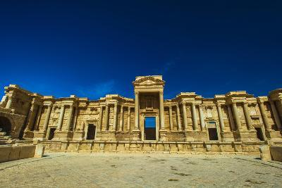 Roman Ruins of Palmyra, Syria. UNESCO World Heritage