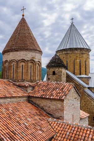 Ananuri Castle, a Castle Complex on the Aragvi River in Georgia. UNESCO World Heritage