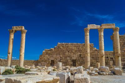 Columns in the Inner Court of the Temple of Bel. Syria. UNESCO World Heritage