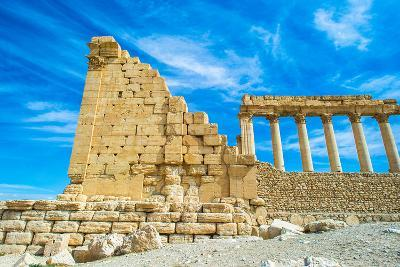 Great Ruins of Palmyra, Syria. UNESCO World Heritage