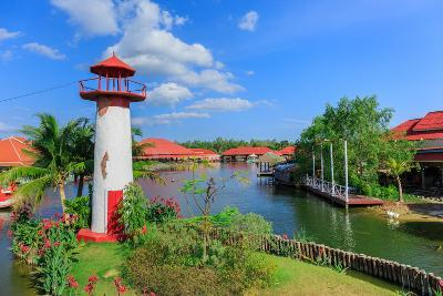 Replica Lighthouse at Hua Hin in Thailand