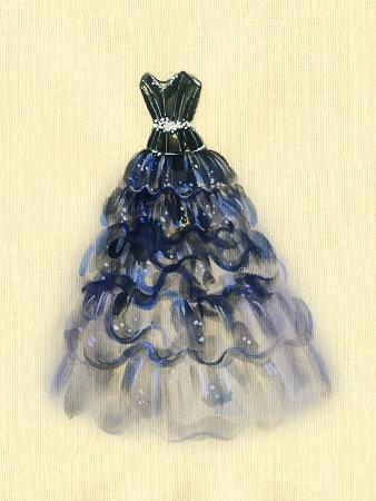 Art Sketch of Beautiful Dress