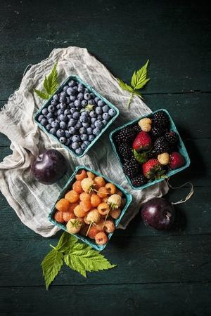 A Variety of Fresh Berries