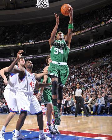 Boston Celtics v Philadelphia 76ers: Paul Pierce
