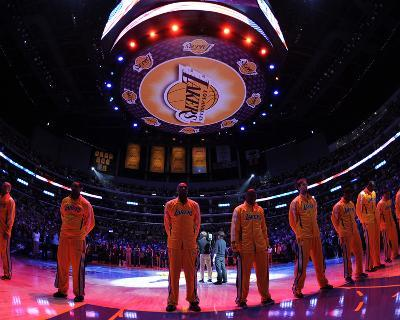 New Orleans Hornets v Los Angeles Lakers - Game Five, Los Angeles, CA - April 26: Lamar Odom