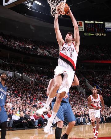 Minnesota Timberwolves v Portland Trail Blazers: Rudy Fernandez