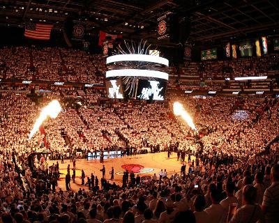 Dallas Mavericks v Miami Heat - Game One, Miami, FL - MAY 31: