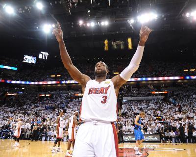Dallas Mavericks v Miami Heat - Game Two, Miami, FL - JUNE 2: Dwyane Wade
