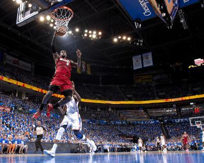 Oklahoma City, OK - June 12: LeBron James