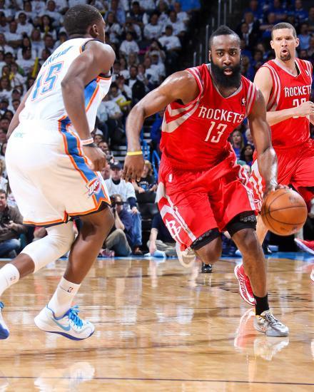 Houston Rockets Vs Oklahoma City Thunder: Apr 24, 2013, Houston Rockets Vs Oklahoma City Thunder