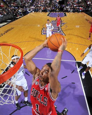Chicago Bulls v Sacramento Kings: Derrick Rose