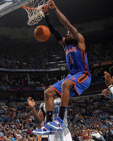 New York Knicks v New Orleans Hornets: Amar'e Stoudemire