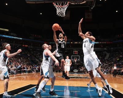 San Antonio Spurs v Minnesota Timberwolves: Tony Parker