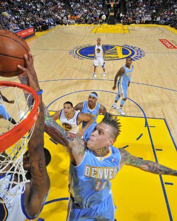 Denver Nuggets v Golden State Warriors: Chris Anderson