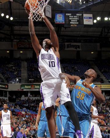 New Orleans Hornets v Sacramento Kings: Samuel Dalembert