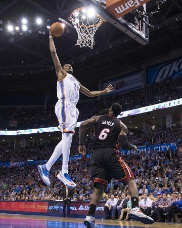 Feb 20, 2014, Miami Heat vs Oklahoma City Thunder - Kevin Durant