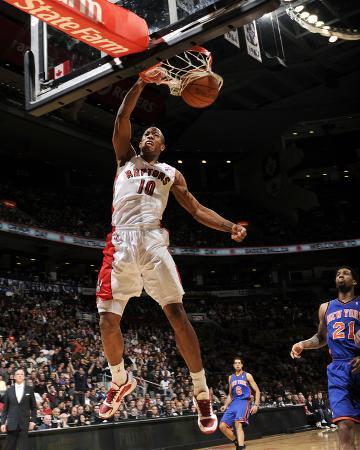 New York Knicks v Toronto Raptors: DeMar DeRozan