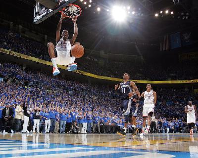 Memphis Grizzlies v Oklahoma City Thunder - Game Seven, Oklahoma City, OK - MAY 15 : Kevin Durant