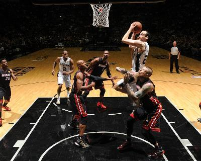 2014 NBA Finals Game Two: Jun 8, Miami Heat vs San Antonio Spurs - Manu Ginobili