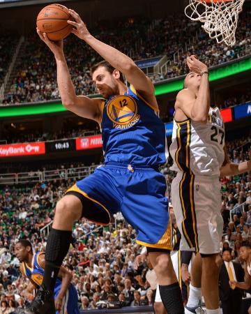 Jan 31, 2014, Golden State Warriors vs Utah Jazz - Andrew Bogut