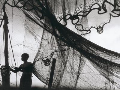 Fishing-Nets Drying