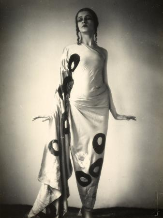 Portrait of Jia Ruskaja, Prima Ballerina of the Teatro Alla Scala in Milan