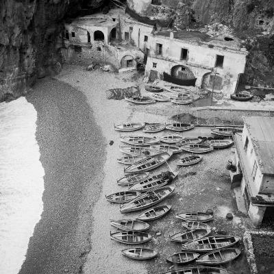 Beach in the Surroundings of Amalfi