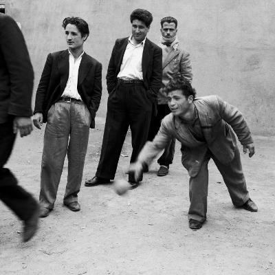 Men Playing Bocce in San Giovanni in Fiore