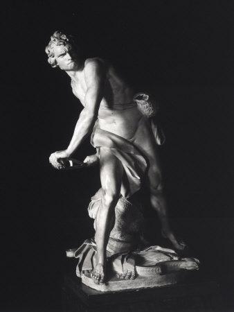 David, Gian Lorenzo Bernini, Galleria Borghese, Rome