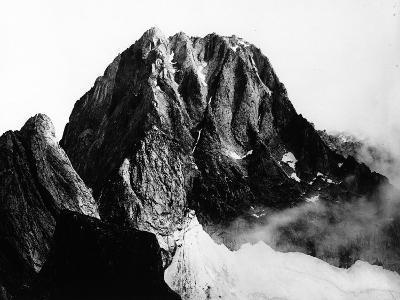 View of the Peak of Pizzo Badile in Val Masino, Sondrio