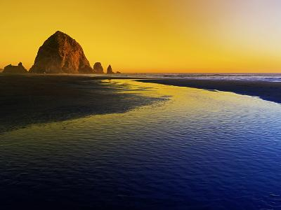 Summer Sunset in Cannon Beach, Oregon