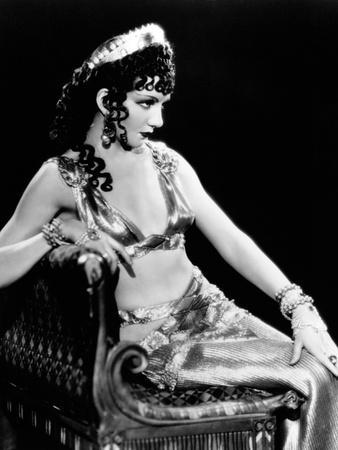 """Claudette Colbert. """"The Sign of the Cross"""" 1932, Directed by Cecil B. Demille"""