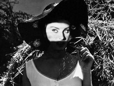 "Sophia Loren. ""The Miller's Beautiful Wife"" 1955, ""La Bella Mugnaia"" Directed by Mario Camerini"