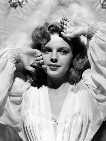 """Judy Garland. """"Presenting Lily Mars"""" 1943, Directed by Norman Taurog"""