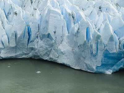 A Close Up of Glacier Grey in Torres Del Paine Patagonia, Chile.