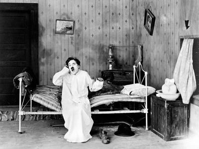"Charlie Chaplin. ""Sunnyside"" 1919, Directed by Charles Chaplin"